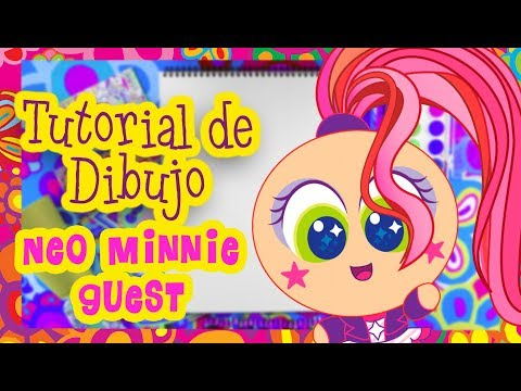 Neo Minnie Guest -Tutorial De Dibujo - Distroller