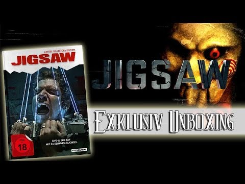 Jigsaw 2017 - Limited Collectors Mediabook Edition Blu-ray Unboxing