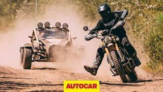 2019 Triumph Scrambler vs Ariel Nomad | Off-road battle | Autocar by Autocar