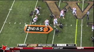 Tajh Boyd vs Wake Forest (2012)