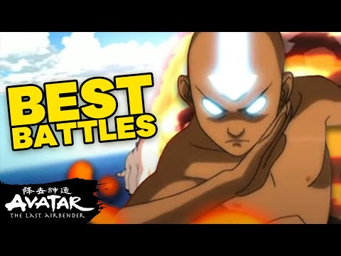Top 10 Best Battles in Avatar: The Last Airbender! 💥| Avatar
