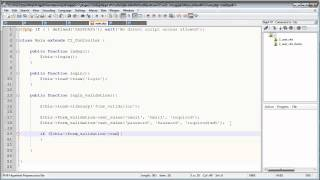 CodeIgniter Tutorials: Registration&Login (Part 4/13)