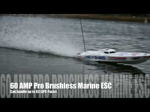 King of Shaves P1 Brushless Boat