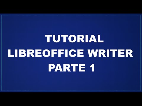 Tutorial LibreOffice Writer - Parte 1 -  Margini, Paragrafi E Pagine