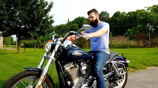 5. Watch this before you buy a Harley Super Glide