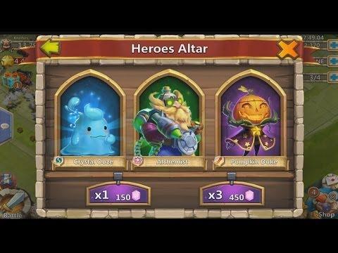 Castle Clash – Hero Rolls (Got Legendary Heroes But Not What I