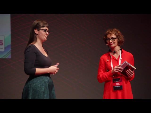 Verssorok hídja | Kele Dóri | TEDxYouth@Budapest 2016