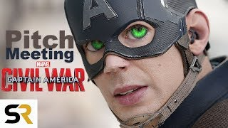 Download Youtube: Captain America: Civil War #ScreenRantPitchMeeting