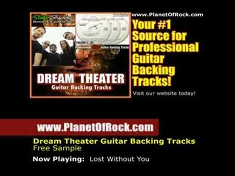John Petrucci Lost Without You Guitar Backing Track
