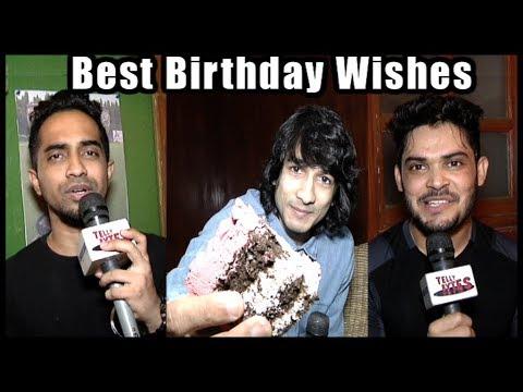Kunwar Amar & Macedon D'mello Gives Best Birthday Wishes To Buddy Shantanu