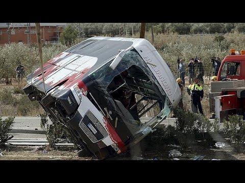 Ισπανία – Δυστύχημα: Από 6 χώρες οι νεκρές φοιτήτριες, μια Ελληνίδα τραυματίας