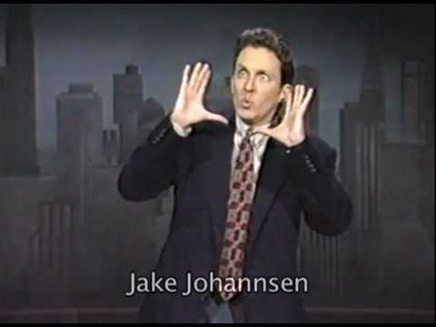 Jake Johannsen Letterman Appearance from 1997