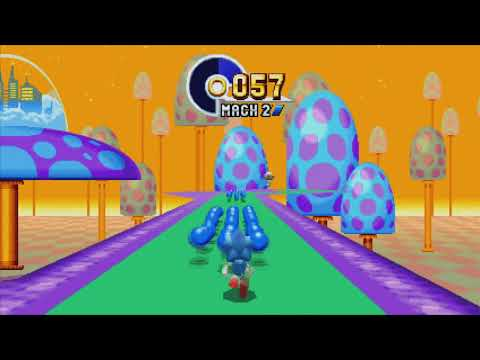 Special Stage 6 w/ Advance 3 Special Stage (Sonic Mania)