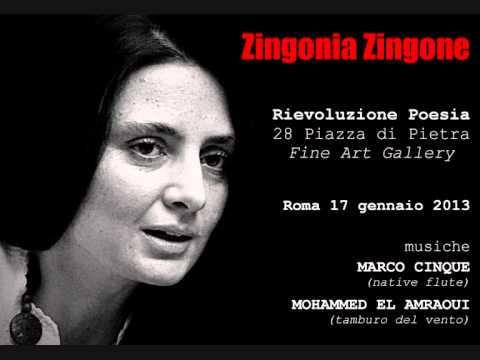 ZINGONIA ZINGONE  Rievoluzione Poesia