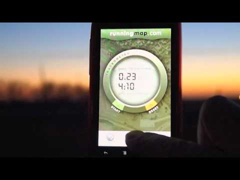 Video of Runningmap Trackometer