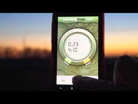 Video of Runningmap Trackometer