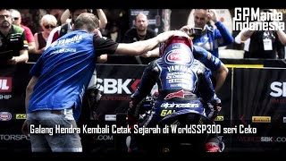 Video Galang Hendra Pole Possition WSSP300 Seri Ceko 2018 MP3, 3GP, MP4, WEBM, AVI, FLV September 2018