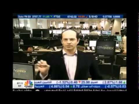 أشرف العايدي على سي أن بي سي العربية - 13 مارس 2015