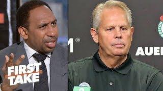 Video 'Enough is enough!' – Stephen A. calls out Danny Ainge's failures as Celtics GM | First Take MP3, 3GP, MP4, WEBM, AVI, FLV Juni 2019