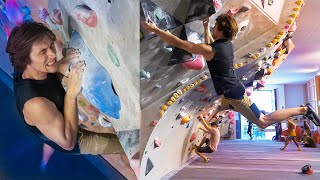 Pinch Dynos, Weird Comp Dynos And More Dynos - Emil Is Back Climbing Again! by Eric Karlsson Bouldering