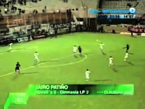 Gol de Jairo Patiño, Newells vs Gimnasia La Plata 2004