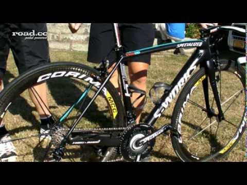 Tour Tech: Specialized Project Black McLaren Tarmac SL4