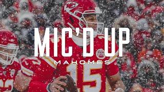 Patrick Mahomes Mic'd Up 'Did I Look Like Lamar?'   Kansas City Chiefs
