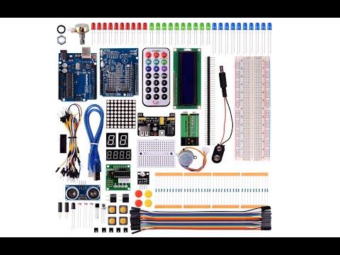 Review Teil 1 Kuman Project Super Starter Kit Set für Arduino UNO R3 Mega2560 Mega328 Nano K4