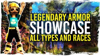✘ Showcase of Legendary Armors - all Types, Races, and Genders. Time stamps below.  ✘Human⏰ Male - Light 0:27⏰ Female - Light 0:57⏰ Male - Medium 1:27 ⏰ Female - Medium 1:57⏰ Male - Heavy 2:27⏰ Female - Heavy 2:57Norn⏰ Male - Light 3:31⏰ Female - Light 4:01⏰ Male - Medium 4:31⏰ Female - Medium 5:01⏰ Male - Heavy 5:31⏰ Female - Heavy 6:01Charr⏰ Male - Light 6:35⏰ Female - Light 7:05⏰ Male - Medium 7:35⏰ Female - Medium 8:05⏰ Male - Heavy 8:35⏰ Female - Heavy 9:05Asura⏰ Male - Light 9:39⏰ Female - Light 10:09⏰ Male - Medium 10:39⏰ Female - Medium 11:09⏰ Male - Heavy 11:39⏰ Female - Heavy 12:09Sylvari⏰ Male - Light 12:42⏰ Female - Light 13:12⏰ Male - Medium 13:42⏰ Female - Medium 14:12⏰ Male - Heavy 14:42⏰ Female - Heavy 15:12Following links will support my channel if you use them:★ Buy Guild Wars 2: Heart of Thorns: http://guildwars2.go2cloud.org/aff_c?offer_id=6&aff_id=306★ Play for FREE: http://guildwars2.go2cloud.org/aff_c?offer_id=19&aff_id=306With the support of ArenaNet.★ WEBPAGE: http://www.tekkitsworkshop.net★ FACEBOOK: http://www.facebook.com/TekkitsWorkshop★ TWITTER: http://www.twitter.com/TekkitsWorkshop★ SUBSCRIBE! http://goo.gl/8pmdoL♫ Intro: TheFatRat - Monody - http://goo.gl/cwQrxy♫ Outro: TheFatRat - Windfall - http://goo.gl/D4eG33♫ Guild Wars 2 - Soundtrack - https://goo.gl/Y0UPC9