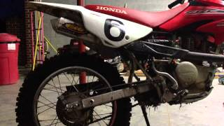 3. 2013 Honda CRF100f upgraded