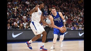 Luka Doncic Puts The Moves on Kawhi Leonard, Nearly Fakes Him Out by Bleacher Report