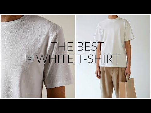 THE BEST WHITE T-SHIRT | How much should you spend? | Men's Fashion | Daniel Simmons