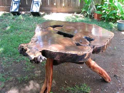 A black walnut table.