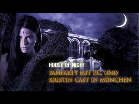 Fan-Party mit P.C. und Kristin Cast in München