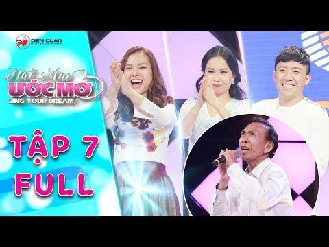 Hát mãi ước mơ | Tập 7 Trấn Thành, Cẩm Ly cảm phục trước thí sinh hát nhạc Trịnh