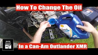 8. How To: Can-Am Outlander L 570 Xmr Oil Change