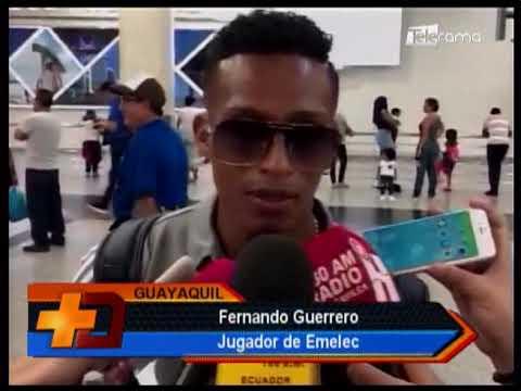 Arribó Emelec de Argentina y se prepara para Explosión Azul