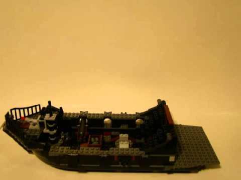 Vidéo LEGO Pirates des Caraïbes 4184 : Le Black Pearl