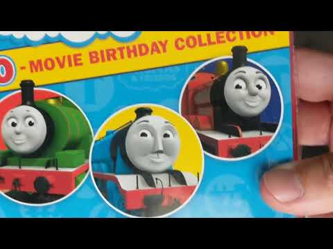 Thomas and Friends Home Media Reviews Episode 119 - 10 Movie Birthday Collection