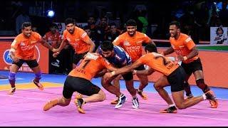 Pro Kabaddi 2018: Haryana Steelers vs U Mumba Highlights [Hindi]