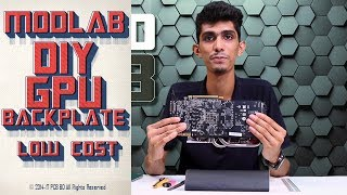 Modlab is the first pc modding show in Bangladesh, dedicated to PC enthusiasts. On the first episode, Rakib will show you how to make a custom gpu backplate in low cost.