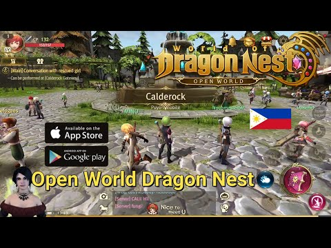 [Guide] World of Dragon Nest (ENG) - Things you need to know (Tagalog) Open World MMORPG Android/IOS