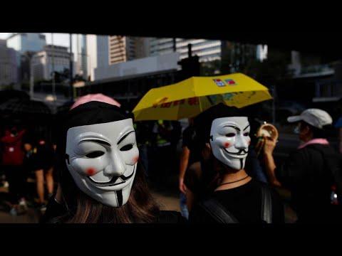 China: Auf Maskenverbot in Hongkong folgen weitere Pro ...