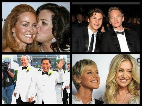 ecco le coppie gay e lesbiche più famose, anche quelle che non ti aspetti