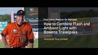 How To Combine Flash And Ambient Light With Bowens Travelpaks