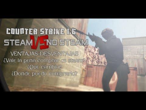 Counter-Strike: Steam vs No-Steam - ¿Vale la pena comprarlo? y más