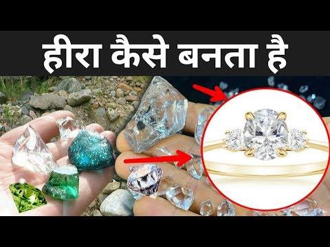 भारत में हीरा कैसे बनता है | Diamond Manufacturing Process | Kohinoor Diamond