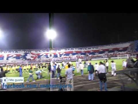 Video - MANGA GIGANTE Ultra Fiel - Olimpia vs America Copa Centenario - La Ultra Fiel - Club Deportivo Olimpia - Honduras