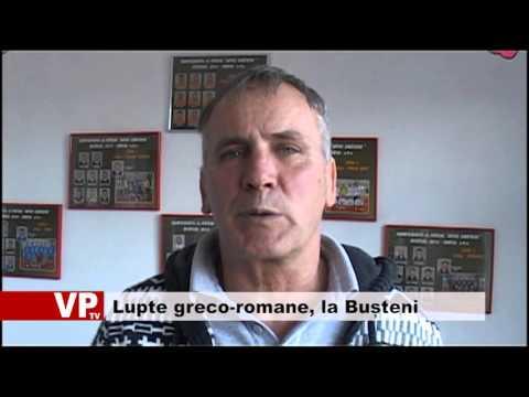 Lupte greco-romane, la Bușteni
