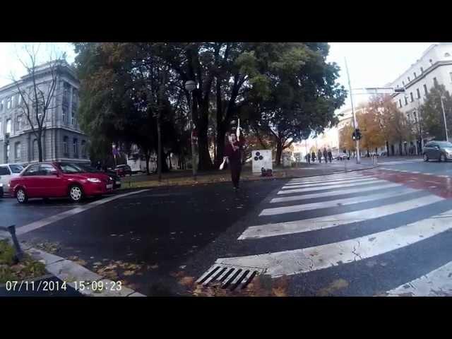 SJ4000 (GoPro alternativa) Bike test snimka centar Zg | Autokamera.hr